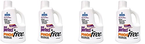 Natural Chemistry 5131 Pool Perfect fDMxjh Concentrate and Phos Free Pool Cleaner, 3 Liter (Pack of 4) (Phos Perfect Pool)
