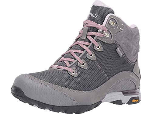 Ahnu Women's W Sugarpine II Waterproof Ripstop Hiking Boot, Wild Dove/Orchid Ice, 7 Medium US