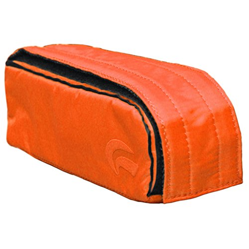 Skunk Travel Pack Smell Proof 9'' Case Orange US PATENT NUMBER D816,984 S by Skunk