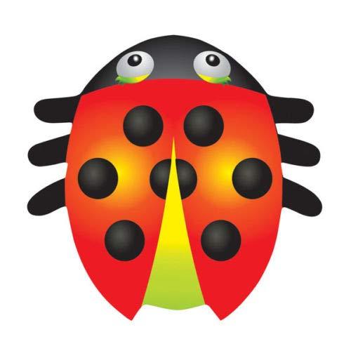 X Kites LadyBug Midi Nylon Kite