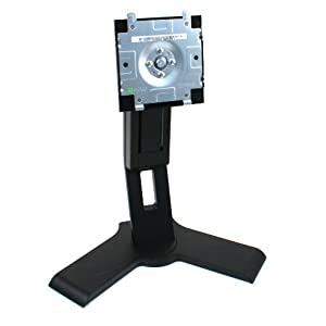 "Genuine Dell P190s Black LCD Computer Monitor Screen Stand Base Platform Pedestal, For Select Dell 17-19"" Flat Panel LCD Monitors/Screens, This Stand Is a Suitable Replacement For All of The Following Models: 1708FP, P170s, 1707FP, 1907FP, 1908FP, E156FP, E157FP, E176FP, E177FP, 1704FP, E196FP, E197FP, 1904FP, 1905FP, E207WFP, 2007WFP, E198WFP, SE198WFP, S198WFP, S199WFP, SE178WFP, E198FP, P170s, and Most Any Dell 17-19inch LCD Monitor/Screen, Tilt Forward/Backward Adjustment, Swivel Is Up To 45 Degrees Left or Right, Rotation is Up To 90 Degrees Clockwise, Hight Adjustment Up To 5""-Inches"