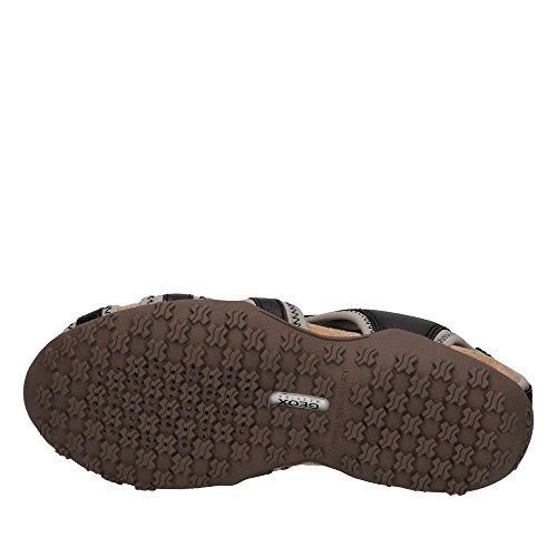 Geox - Sandalias de vestir de Material Sintético para mujer negro
