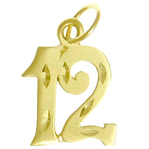 number 12 pendant - 3