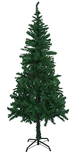 StillCool Christmas tree 6ft / 180cm - 600 Tips Artificial Christmas Tree for Christmas Party Home Decoration (6ft Green) Flocked Christmas Tree Sale