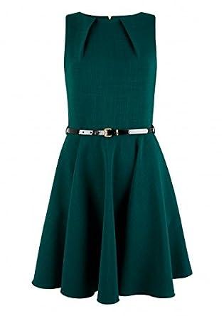 Kleid mit grun