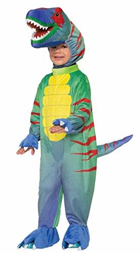 [Forum Novelties Kids Sly Raptor Costume, Multicolor, Toddler] (Trex Baby Costumes)