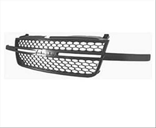 Partslink Number GM1200546 OE Replacement Chevrolet Silverado Pickup Grille Assembly