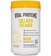 Vital Proteins Collagen Coffee Creamer, No Dairy & Low Sugar Powder with Collagen Peptides Supple...