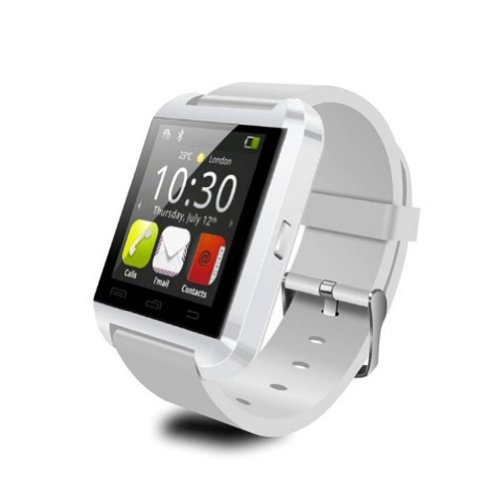 U8 Bluetooth Smart Watch Phone WristWatch for IOS Android iphone/Samsung/HTC (White) - 4