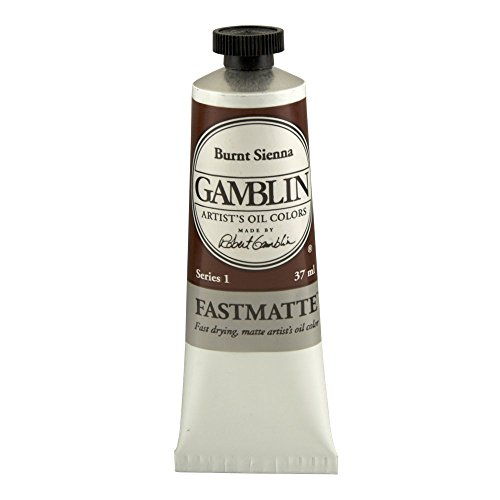gamblin-fastmatte-burnt-sienna-37ml