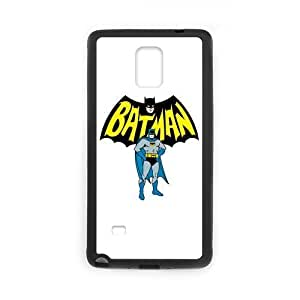 Batman Galaxy Note 4 Case, Comics Samsung Galaxy Note4 Cover, Covers for Note 4 (Laser Technology) WANGJING JINDA