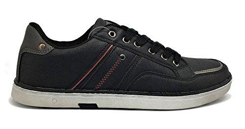 Zapatillas Casual Caballero Demax Negro