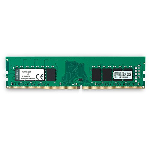 Kingston ValueRAM 16GB 2400MHz DDR4 Non-ECC CL17 DIMM 2Rx8 Desktop Memory (KVR24N17D8/16)]()