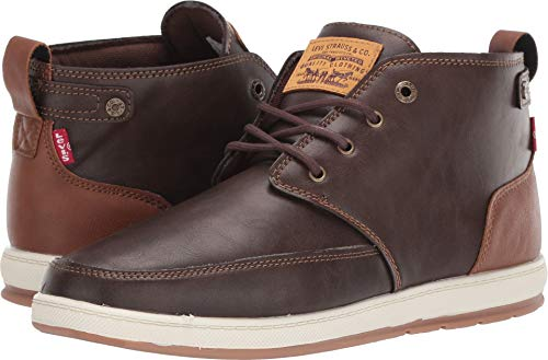 Levi's¿ Shoes Men's Atwater Brunish Brown/Tan 10.5 M US (Men Oxford Shoes Top High)