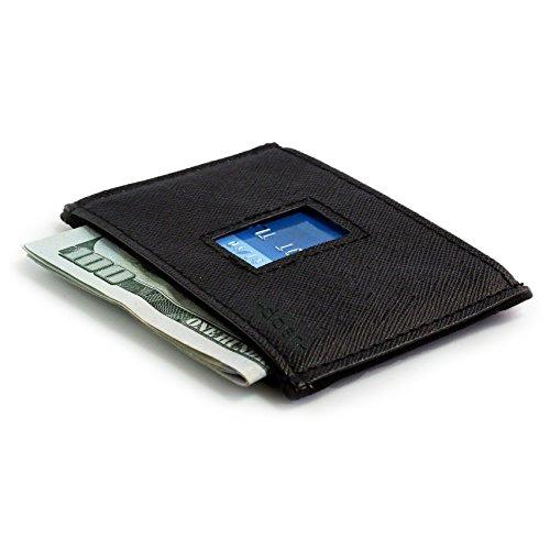 Dash Co. RFID Slim Wallet 4.0 for Men (RFID Horizontal Black) by Dash (Image #1)