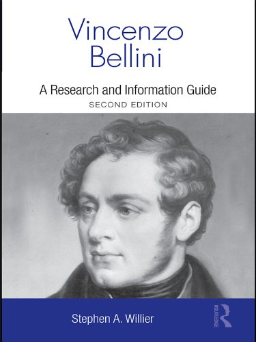 Vincenzo Bellini: A Guide to Research (Routledge Music Bibliographies) por Stephen Willier