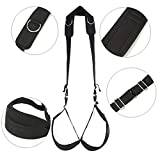 DAWENBI childrens-party-favor-sets Door Slings Open Legs Restraint Bondage Ankle Writs Cuff Sex Adult Game Furnitures Erotic Bondage Restraints Products for Coupl