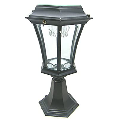 Borne Welhome lampes solaires de jardin sur pied, aluminium ...