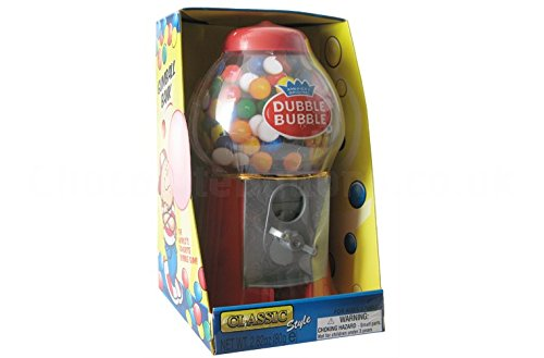 ORIGINAL DUBBLE BUBBLE- MAQUINA DE CHICLE CON HUCHA + 80 GR DE CHICLES: Amazon.es: Alimentación y bebidas