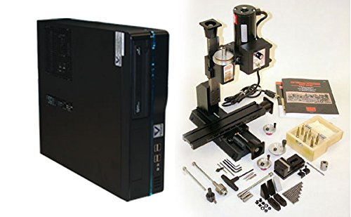 (Sherline 8020A - Complete CNC 8-Direction Vertical Mill and Accessory Package )