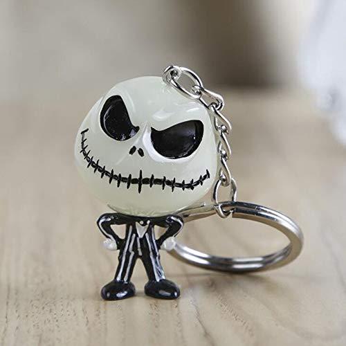 The Nightmare Before Christmas Jack Skellington Key Chains Keychain Keyring Gift