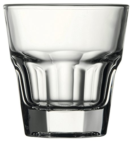 Hospitality Glass Brands 52714-012 Casablanca Rocks (Pack of 12), 4.5 oz.