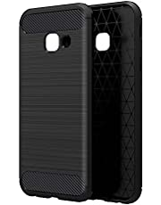 Simpeak Case Compatible with Galaxy A5 2017, Premium Rugged Protector Back Case for Galaxy A5 2017, [Drop Protection] [Anti Slip] [Scratch Resistant], Black