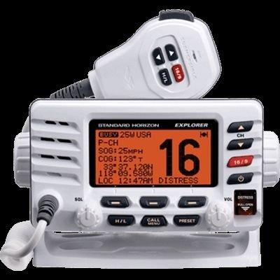 Standard Horizon GX1600W Vhf, Explorer, Optional Remote, White, ()