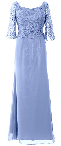 Sleeve Half Formal of Maxi the Dress Himmelblau Bride MACloth Gown Women Evening Mother E6qAc5wOc