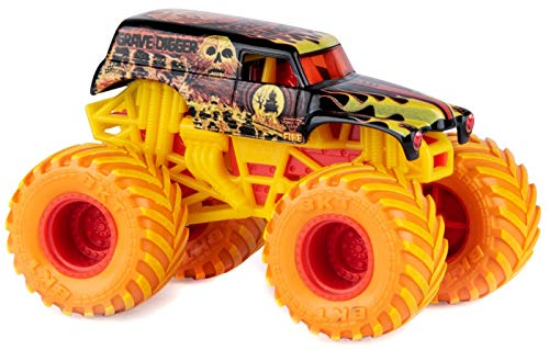 Monster Jam Fire & Ice Special Edition Monster Truck Die-Cast Vehicle 1:64 (Grave Digger)