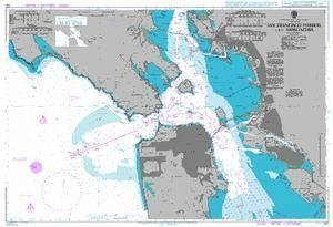 Ba Chart 591  San Francisco Harbor and Approaches by United Kingdom Hydrographic Office