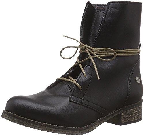 Jonny´s Vegan Kelcie - botas de material sintético mujer negro - negro (Negro)