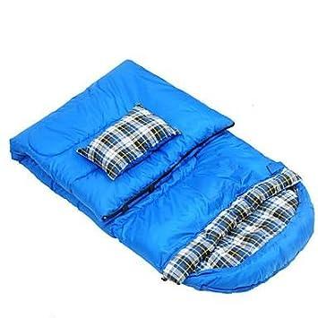 FMYXZ Colchoneta de dormir / Bolsa de dormir Saco Rectangular Sencilla / Algodón Vacío 200g 210cmX75cmSenderismo / Camping / Pesca / Viaje / , blue: ...