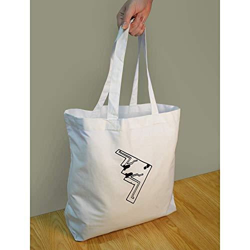Azeeda For BG00008892 Bomber' 'Stealth Life Shopping Tote Bag 77gP1HwqBW