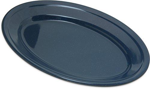 Carlisle 4356335 Dallas Ware Melamine Oval Platter Tray, 9.25