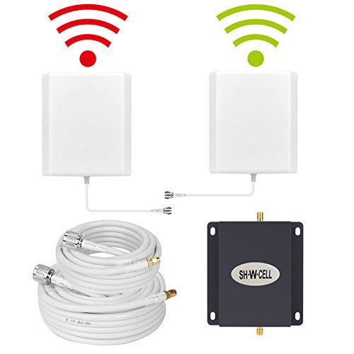 Verizon Wireless Repeater - Cell Phone Signal Booster Verizon 4G LTE Cell Phone Booster 700MHZ Band13 Verizon Mobile Signal Booster Repeater Amplifier Wireless FDD with Indoor/Outdoor Dual Panel Antennas Kit For Home Office