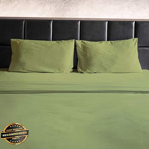 Florance Jones Egyptian Cotton Feel - 1800 Thread Count Bamboo Feel 4 Piece Bed Sheet Set Soft! | Collection Sheet Set SHSTHR-122019197 | Queen