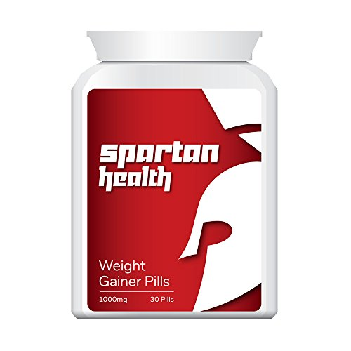 SPARTAN HEALTH WEIGHT GAINER PILLS – PUT ON SIZE BULKING PILL GAIN SIZE &...