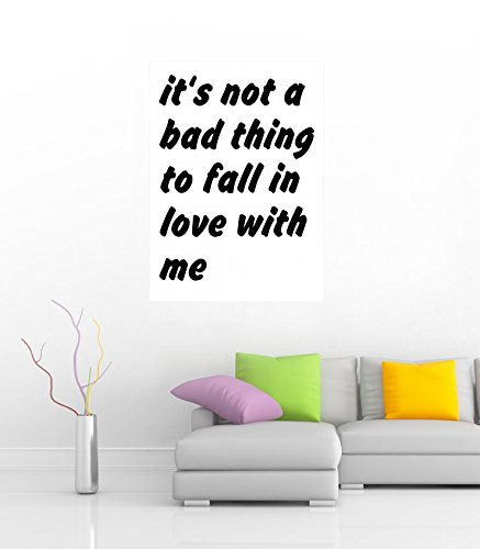 It is not a bad thing to fall in love