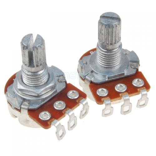 250K Ohm Volume and Tone Audio Pot Potentiometer for Electric Guitar Parts New