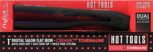 "Hot Tools Digital Tourmaline Flat Iron 1"""