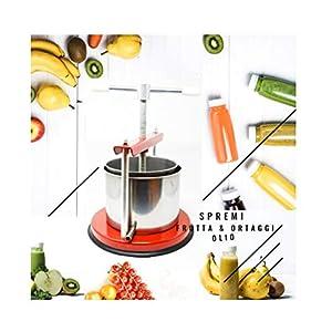 CELMS TORCHIETTO Premitutto capacità di Premitura 3kg con Certificazione Alimentare Ferro e Acciaio Inox 430 Made in… 6