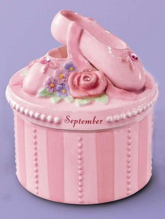 (A Time to Dance Classics September Ballerina Trinket Box by Russ)