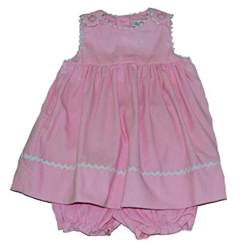 - Petit Ami Pink Corduroy Rick Rack Jumper (18 Months)