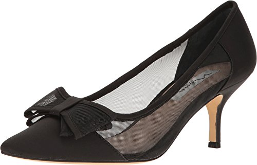 Mesh Ladies Pumps - Nina Women's Bianca Black Pump