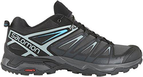 Salomon X Ultra 3 Mens Hiking Shoes Phantom/Black/Hawaiian Surf Sz 12.5