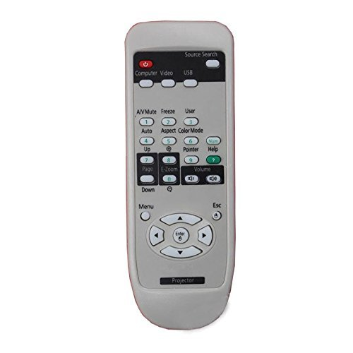 8200 Projectors (CK Global Projector Remote Control for Epson Powerlite 9000 9000i 9000nl Powerlite 7350 Powerlite 500 500c Powerlite 8100i+NL 8100N LPowerlite 8200 8200i 8200nl EMP-70C Powerlite 820P)
