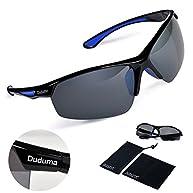Duduma Polarized Sports Sunglasses for Baseball Cycling Fishing Golf Tr58 Superlight Frame