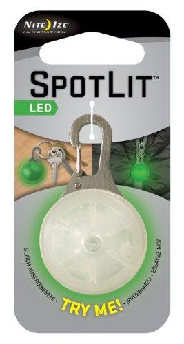 Nite Ize SpotLit Clip-On LED Light with Carabiner, Weather R