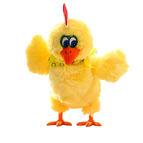 Children Electric Musical Dancing Chicken Hens Laying Eggs Easter Party Funny Doll Toy